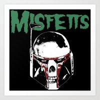 Misfetts Art Print