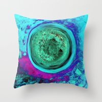 Circle #2 Throw Pillow