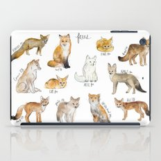 Foxes iPad Case