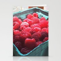 Raspberry Harvest Stationery Cards