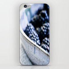 Black Berry Bowl iPhone & iPod Skin