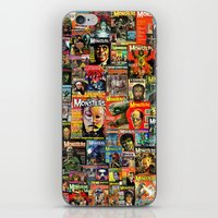 Monsters  |  Collage iPhone & iPod Skin