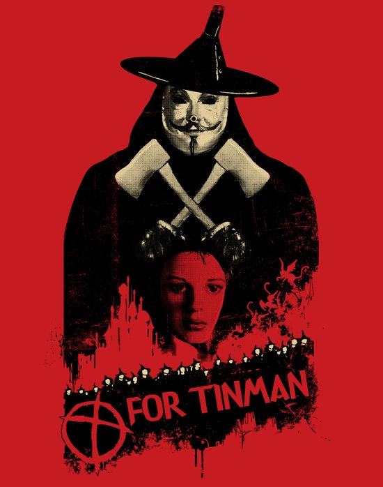 T For Tinman Art Print