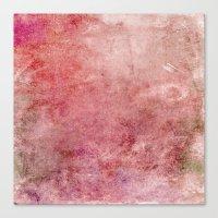 Pink Texture Canvas Print