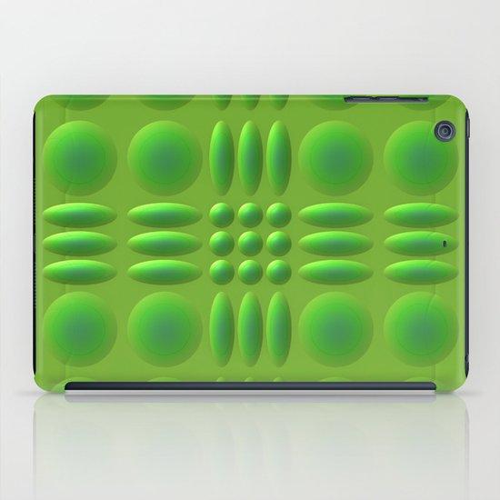 Puffy Green iPad Case