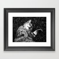 Dreaming Of Jamón Framed Art Print