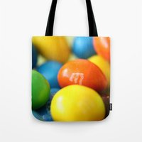 Colourful M&M's Tote Bag