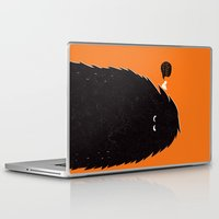 monster Laptop & iPad Skins featuring Monster by Spore