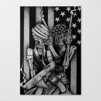 True Romance Canvas Print