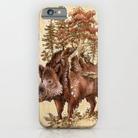 Boar Of The Woods iPhone 6 Slim Case