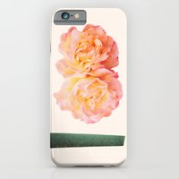 iPhone & iPod Case featuring peachy keen by cardboardcities