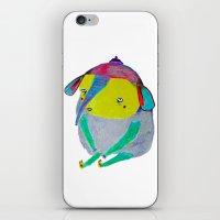 Baby Elephant. elephant art, elephant illustration, cute, kids, nature, animals,  iPhone & iPod Skin