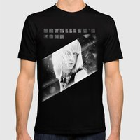Satellite's gone Mens Fitted Tee Black SMALL