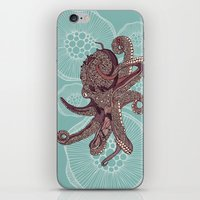 Octopus Bloom iPhone & iPod Skin