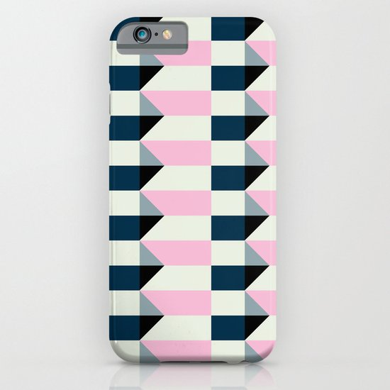 Crispijn Pink & Blue iPhone & iPod Case