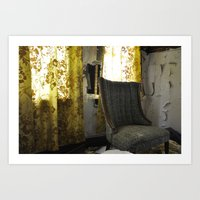 Where Have You Been? Art Print