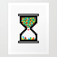 Game Time Art Print