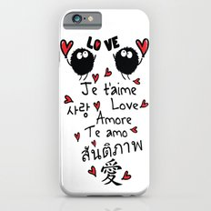 Love in many language Slim Case iPhone 6s