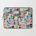 Alpha Pattern Laptop Sleeve