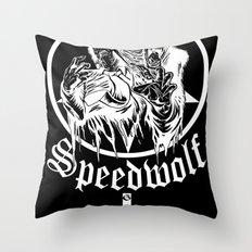speedwolf Throw Pillow