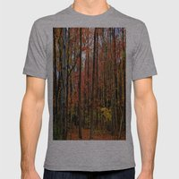 Sometimes the Trees Scream Mens Fitted Tee Athletic Grey SMALL