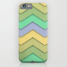 Spring day Chevron iPhone 6s Slim Case