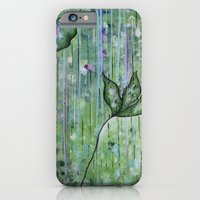 iPhone & iPod Case featuring EMERGING by Honorata Atelier
