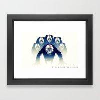 The Paris Blk Framed Art Print