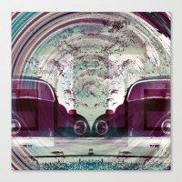 Iconic Swirl Canvas Print