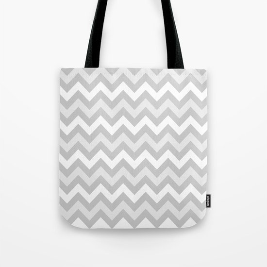 chevron #9 Tote Bag