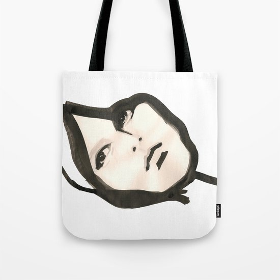 Ink face Tote Bag