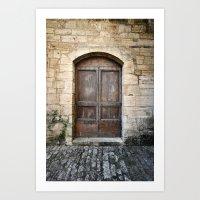 Histoire de portes VI Art Print