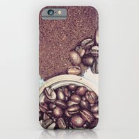 Coffee Beans And Coffee … iPhone 6 Slim Case