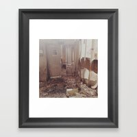 shop 'til you drop Framed Art Print