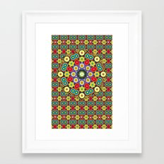 POW WOW Framed Art Print