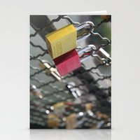 key to my heart Stationery Cards