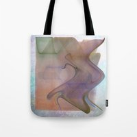 Smoke Effect Tote Bag