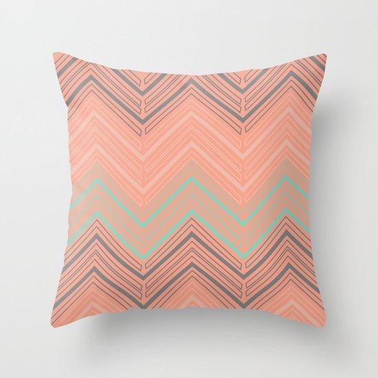 Soft Chevron Throw Pillow