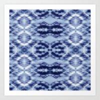 Laurel Canyon Tie-Dye Art Print