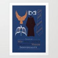 Wit And Intelligence Art Print