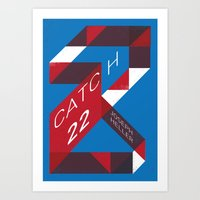 Catch 22 by Joseph Heller Book Cover # 18 Art Print