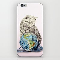 In Which Our Feline Deit… iPhone & iPod Skin