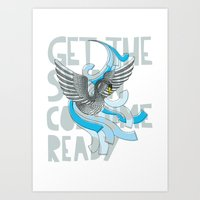 Get the Swan costume ready. Art Print