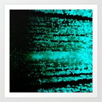 teal Art Prints featuring Teal  by 2sweet4words Designs