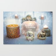 Seasonal Greetings Canvas Print