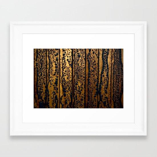 Infected Framed Art Print