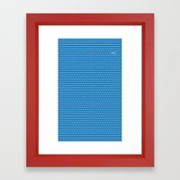 Cut It All Framed Art Print