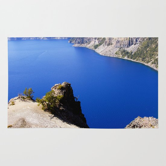 Crater Lake Area & Throw Rug