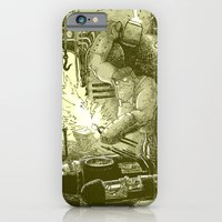 iPhone & iPod Case featuring Doombots by Isaboa
