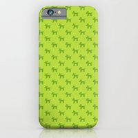 Dogs-Green iPhone 6 Slim Case